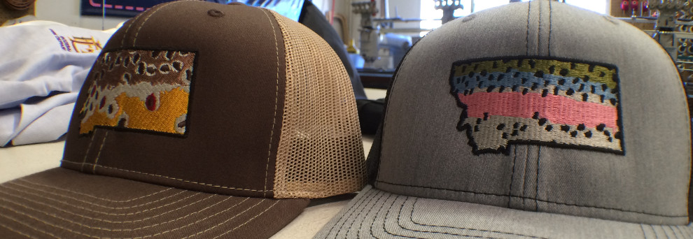 EMBROIDERED HATS, SHIRTS, JACKETS & MORE! | MONTANA EMBROIDERY