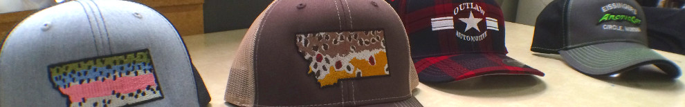 Hat Embroidery | Montana Embroidery | Bozeman